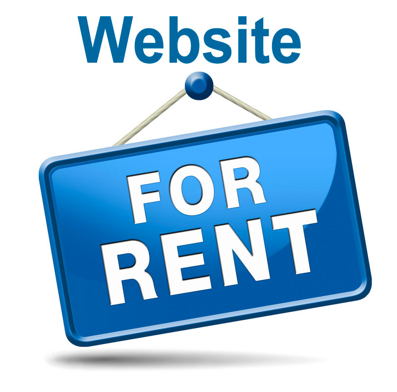 website rental